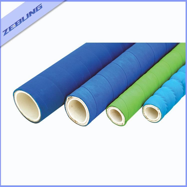 Acid Resistant Chemical Transfer Hose , XLPE Solvent Suction Rubber Hose